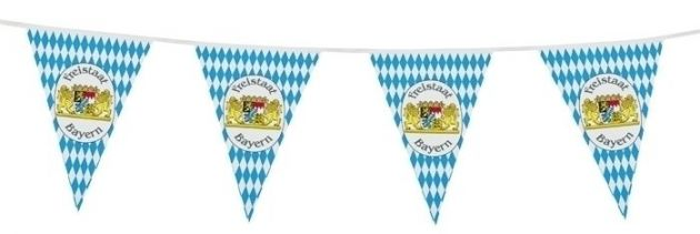 PE Vlaggenlijn Bavaria (10 m)