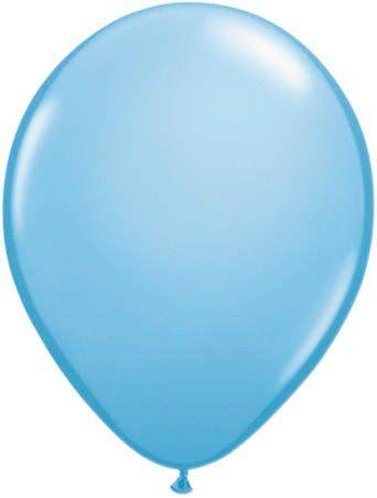 Ballonnen lichtblauw 100 stuks