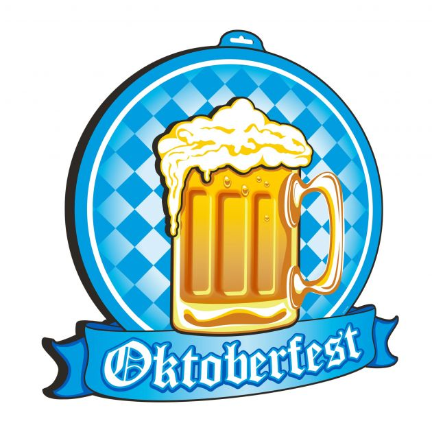3D Wand decoratie Oktoberfest (brandvertragend)