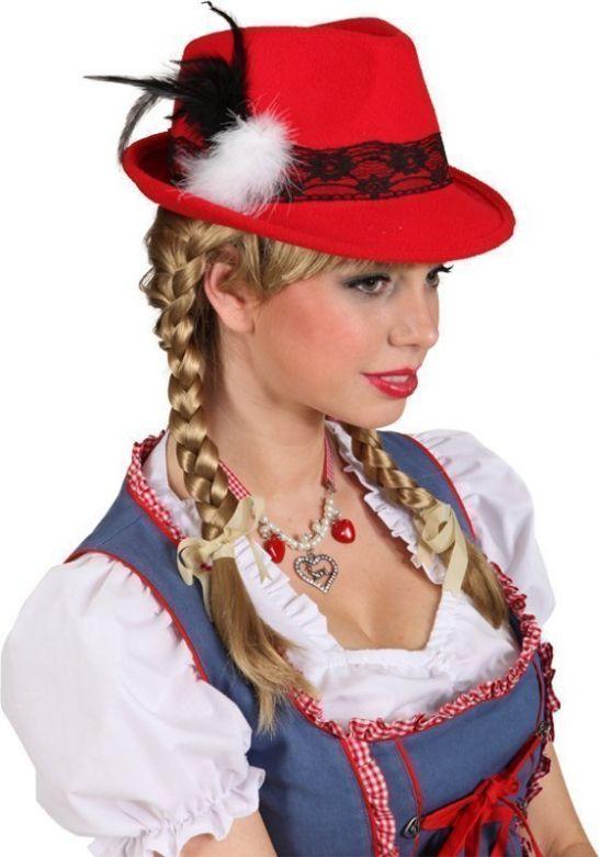 Bayernhut Lady rood
