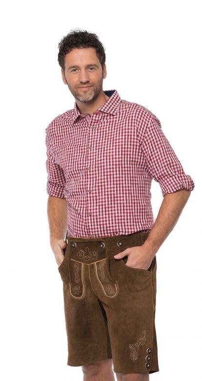 Trachtenhemd Trend 2016 Rood