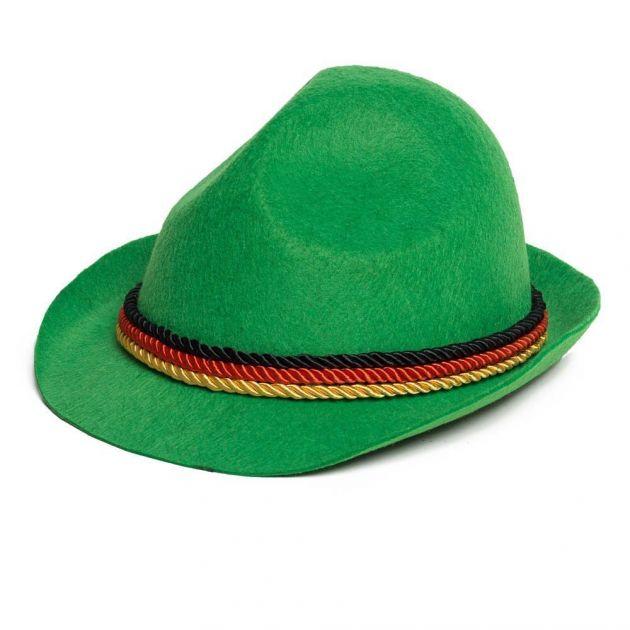 Tiroler Hoed groen Duitsland / One_Size