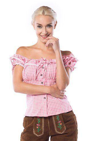 Oktoberfest Top Liesl (Pink)