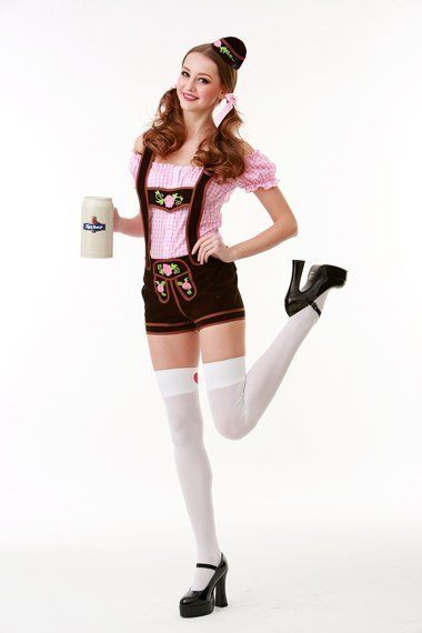 Lederhose Beer Girl - S