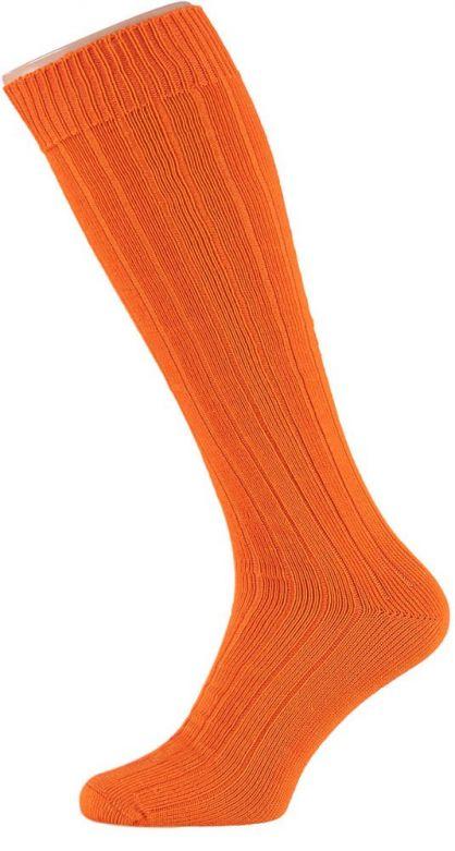 Carnaval Soccer Socks Orange